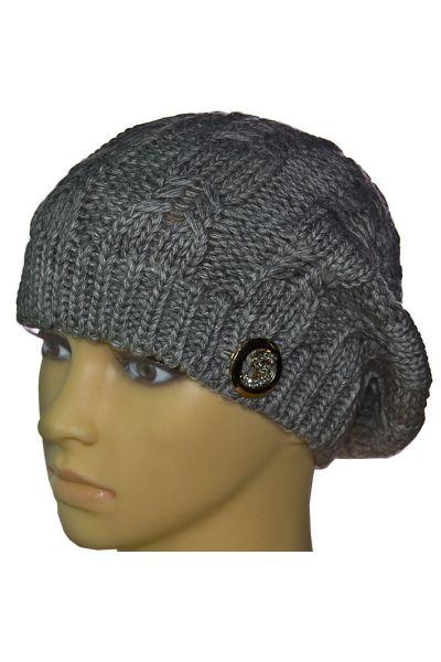 Берет ALA9 серый