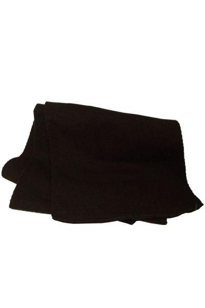 Шарф 13064 темно-коричневый