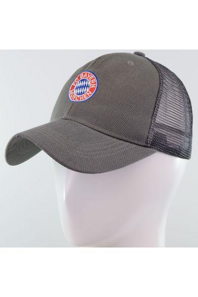 Бейсболка 62017-5-15 серый