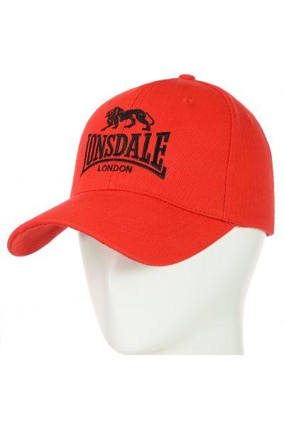 Бейсболка 62017-21-10 красный