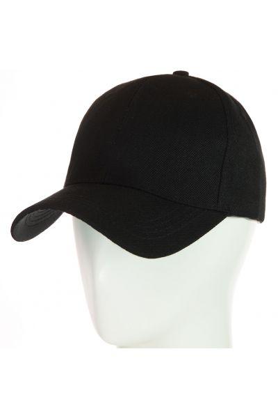 Бейсболка 62017-6 черный