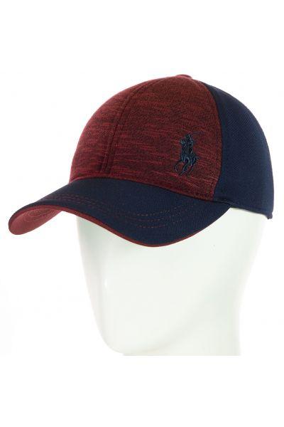 Бейсболка BSH18048 тсиний-бордовый