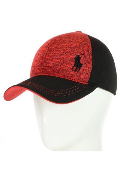 Бейсболка BSH18048 черный-красный