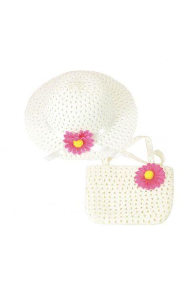 Шляпа детская 22017-4 белый