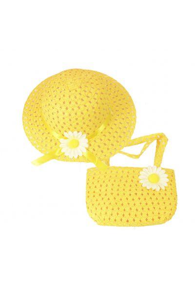 Шляпа детская 22017-4 желтый