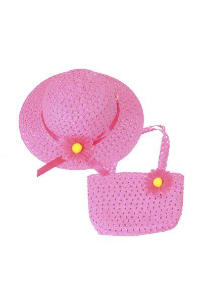 Шляпа детская 22017-4 малиновый