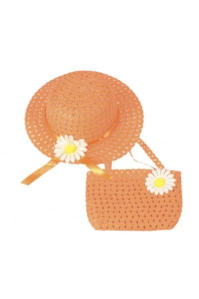 Шляпа детская 22017-4 оранжевый