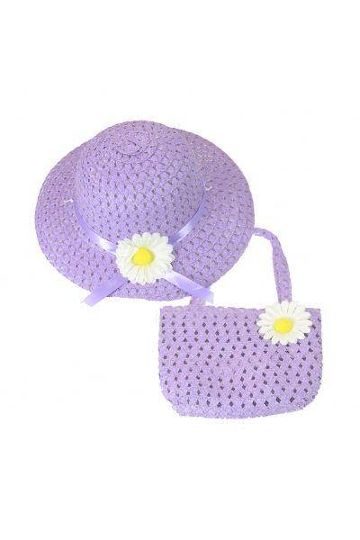 Шляпа детская 22017-4 фиолетовый
