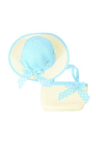 Шляпа детская 22017-5 голубой