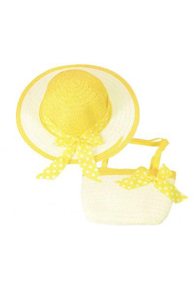 Шляпа детская 22017-5 желтый