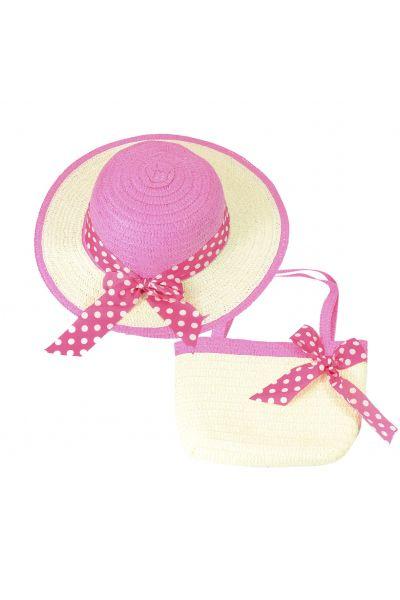Шляпа детская 22017-5 малиновый