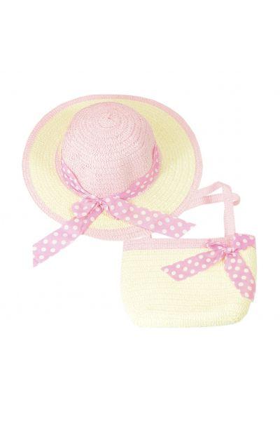 Шляпа детская 22017-5 розовый