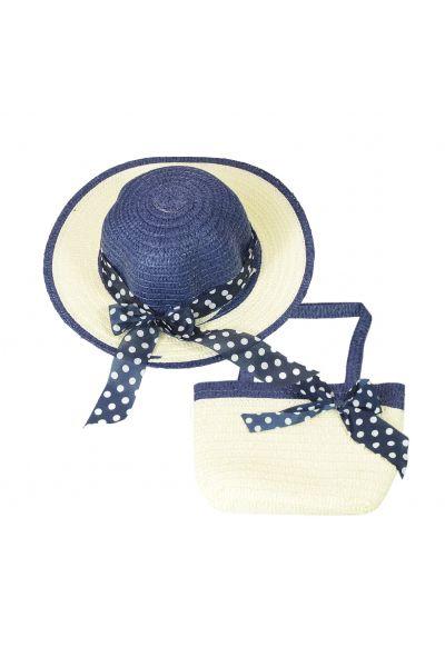 Шляпа детская 22017-5 темно-синий
