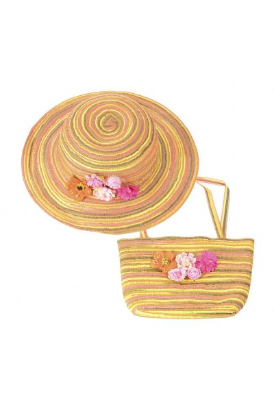 Шляпа детская 22017-6 оранжевый