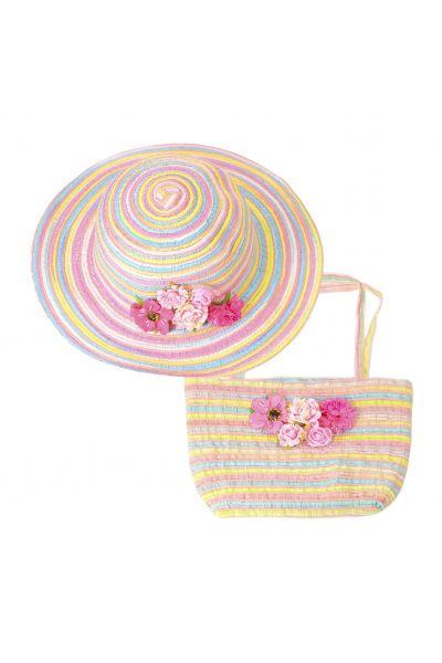 Шляпа детская 22017-6 розовый