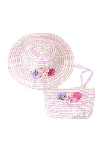 Шляпа детская 22017-6 фиолетовый