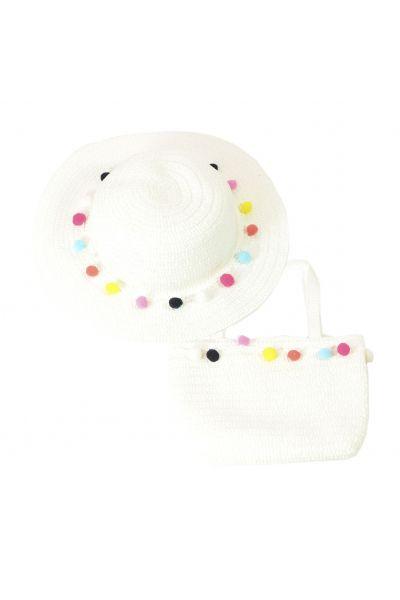 Шляпа детская 22017-7 белый