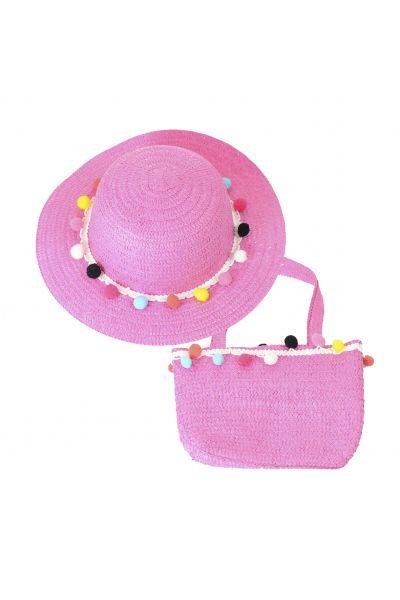 Шляпа детская 22017-7 малиновый