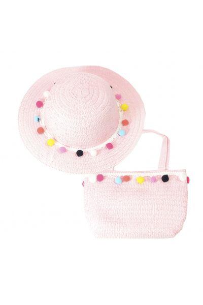 Шляпа детская 22017-7 розовый