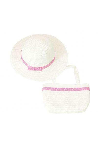 Шляпа детская 22017-8 белый