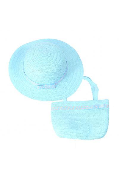 Шляпа детская 22017-8 голубой