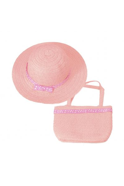 Шляпа детская 22017-8 коралловый