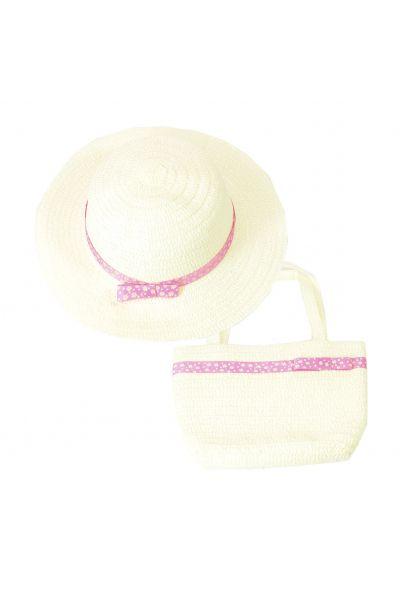 Шляпа детская 22017-8 молочный