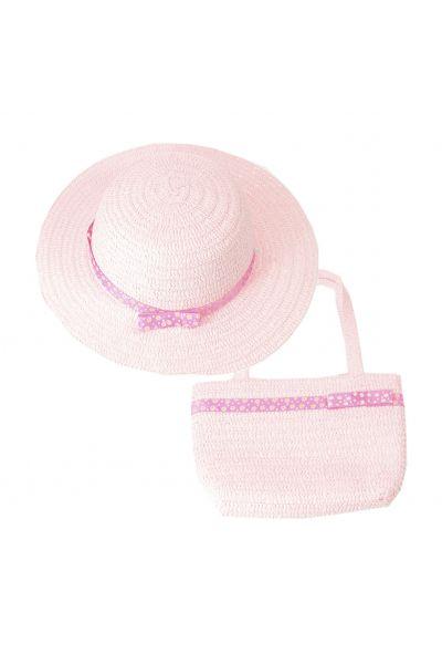 Шляпа детская 22017-8 розовый