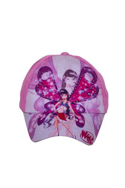 Бейсболка WS14002 фиолетовый-розовый