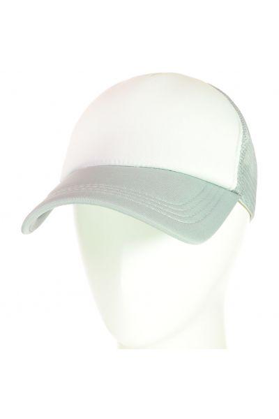 Бейсболка 62017-1 белый-свсерый
