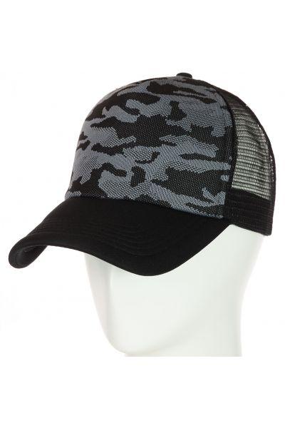 Бейсболка 62017-10 серый
