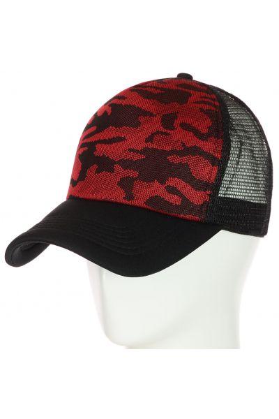 Бейсболка 62017-10 красный