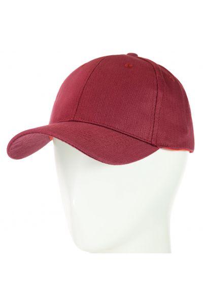 Бейсболка 62017-19 бордовый