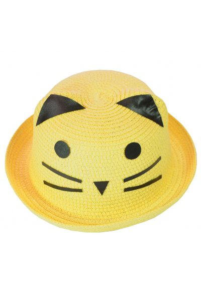 Шляпа детская 152017-2 желтый