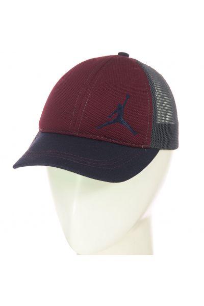 Бейсболка BSH19772 бордо-серый