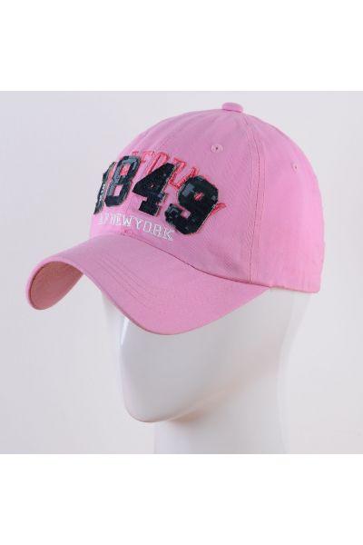 Бейсболка A17012 розовый